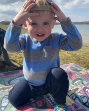 Hudson Dutterer, 1, of Littlestown died Sunday after suffering injuries in a two-vehicle crash in Adams County over the weekend. His mother, Carly, and grandmother, Carole, also died in the wreck.