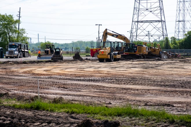 Construction has begun on a soccer field for SC4 at Morton Park in Marysville.