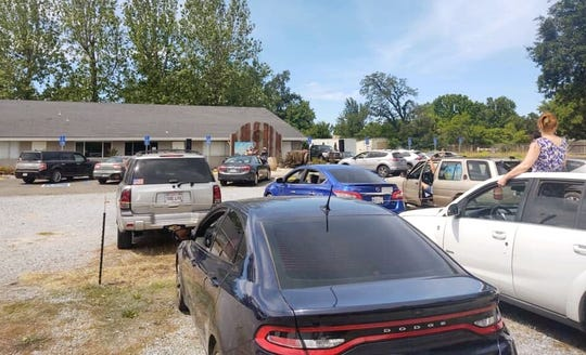 Anderson Community Church held its first-ever drive-in services on Sunday, May 24, 2020, with people attending in their cars. They kept their social distance to prevent any spread of the coronavirus. A second drive-in service is planned for this Sunday, May 31, 2020.