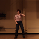 """TIffany Langer recreated a dance scene from """"Napoleon Dynamite"""" as part of her campaign for Aberdeen City Council."""
