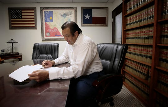 """El Paso attorney Sergio Saldivar says: """"I think the lawyers will file a motion for a change of venue. They should do it for the defendant's sake, but I don't think it will be successful."""""""