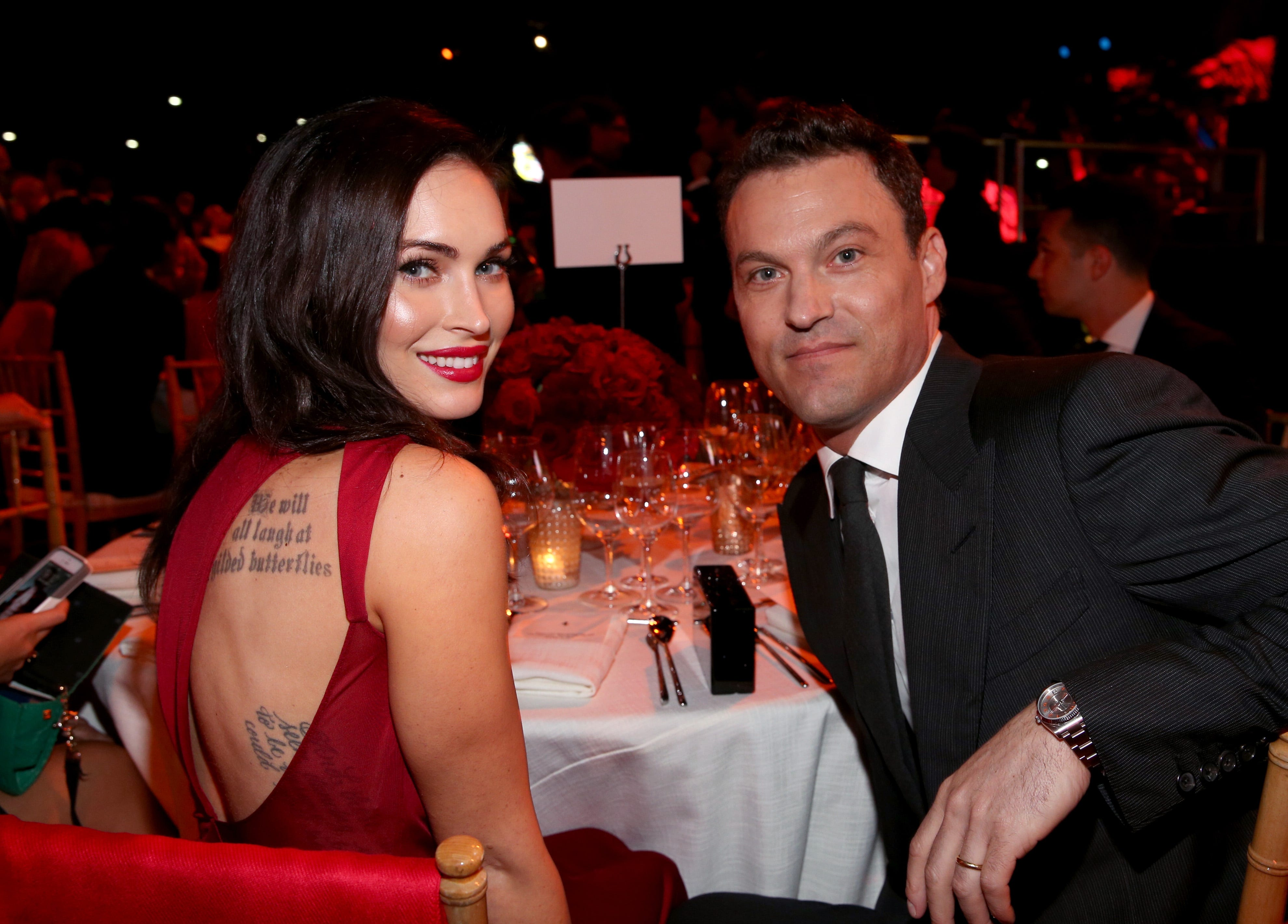 Megan Fox files for divorce from Brian Austin Green after red-carpet debut with Machine Gun Kelly: reports