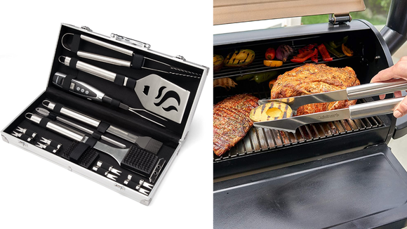 The best Christmas gifts for men: Cuinsinart Grill Set