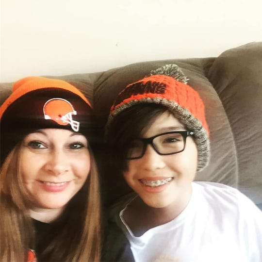 Beth Rosenberg Sanders is passing down her love of the Cleveland Browns to her son.