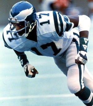 Philadelphia Eagles -- Harold Carmichael, 1971-1983, 8,978 yards