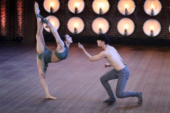 "Dancers Jake & Chau appear on ""World of Dance."""