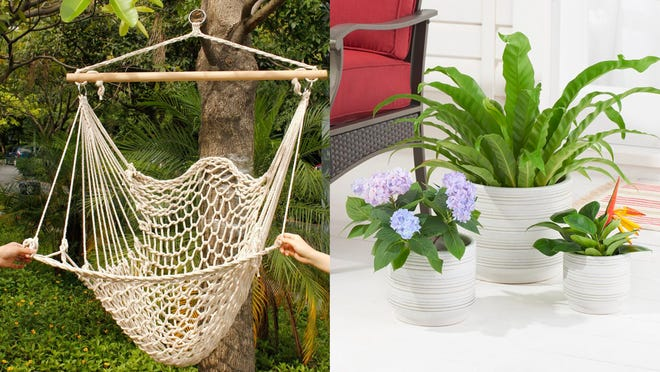 These a must for an outdoor oasis on a budget.