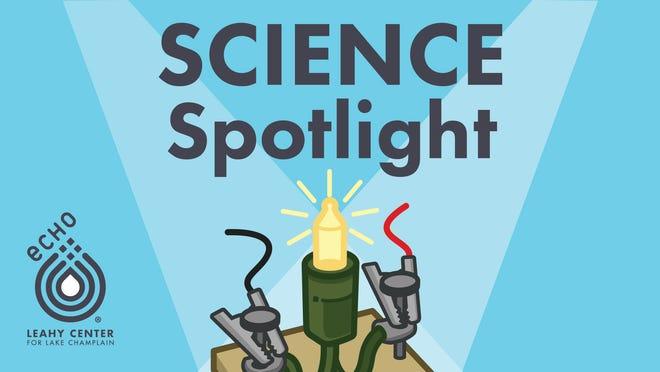 ECHO's Science Spotlight Logo.