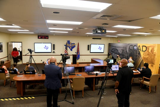 Due to COVID-19 outbreak, the event was closed to the public and broadcast via video teleconference on Friday, May 29, 2020.