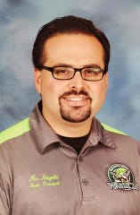 Daniel Noyola Jr. is the new principal for Dr. J.A. Garcia Elementary School in Corpus Christi, Texas.