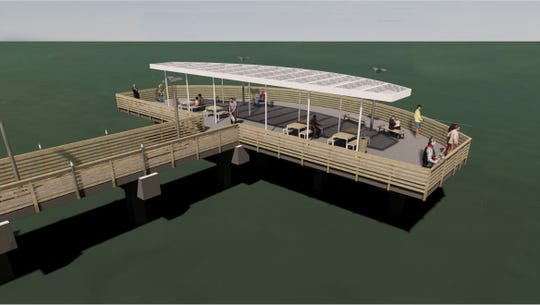 The city of Corpus Christi has developed a design for the dilapidated Cole Park Pier that will be demolished and replaced.