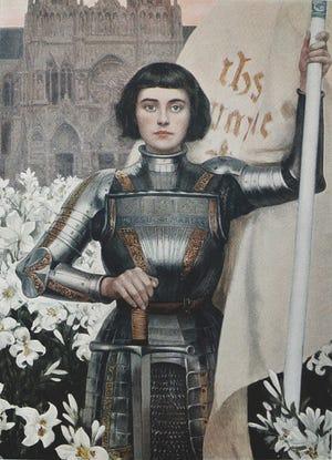 St. Joan of Arc by Albert Lynch
