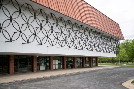 Midland Center for the Arts in Midland on May 28, 2020.