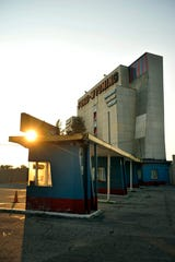 The Ford-Wyoming Drive-In Theater in Dearborn.