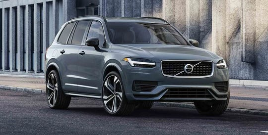 The XC90 R-Design is a luxury SUV with a sporting edge. Unique styling details and colours set the tone on the outside, while standard 20-inch alloy wheels provide the finishing touch.