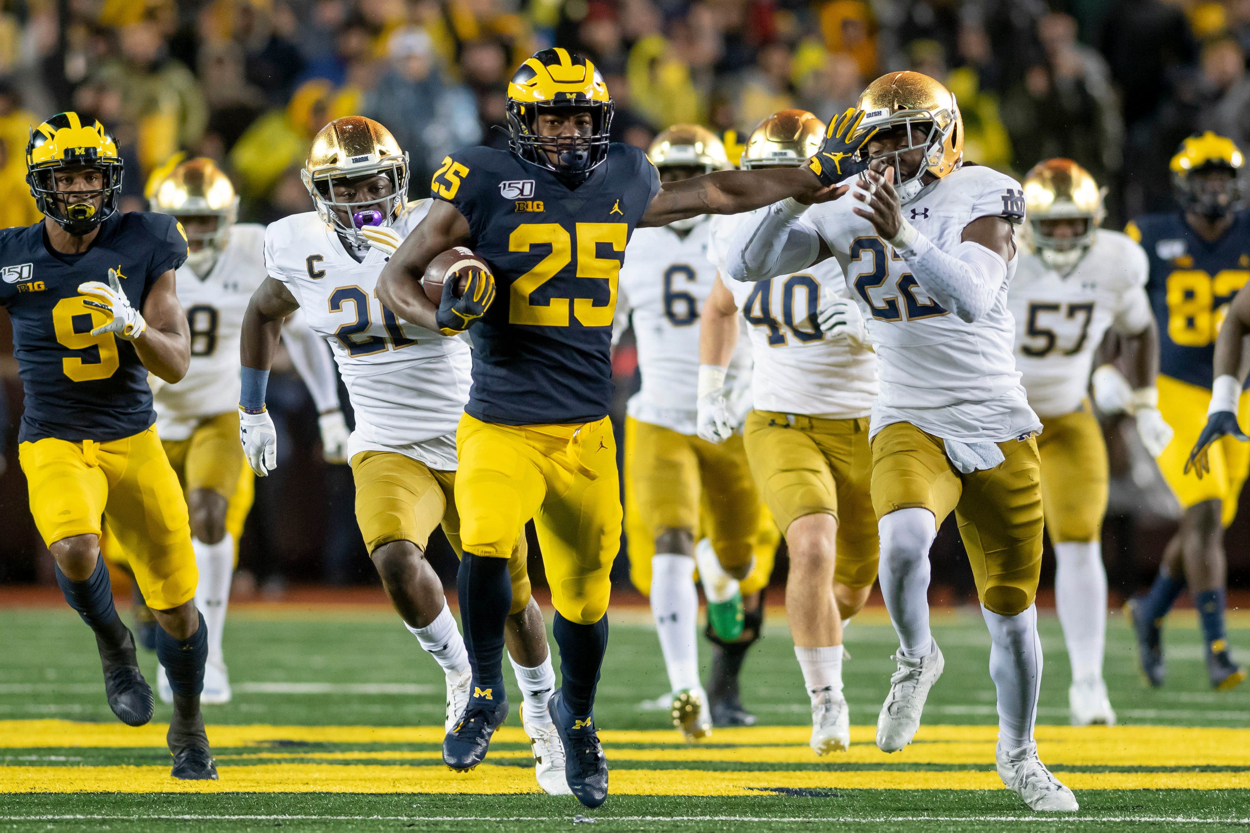 Michigan wants more `explosive home runs` from running...