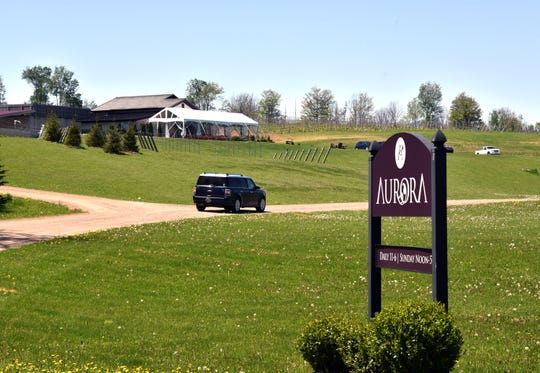 Aurora Cellars in Lake Leelanau has reevaluated service for their customers, setting up four areas for proper safety measures.