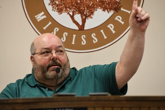 Petal Mayor Hal Marx refused to resign Thursday night at a special meeting where the board of aldermen called for him to step down over his social media comments about the death of Minneapolis man George Floyd, at Petal City Hall in Petal, Miss., Thursday, May 28, 2020.
