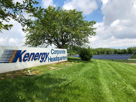 The solar energy array at the Kenergy Corp. headquarters is one of seven solar educational installations in Big Rivers Electric Corp.'s 22-county service territory in Western Kentucky.