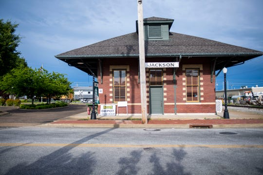 The Jackson Depot museum opened in 1994