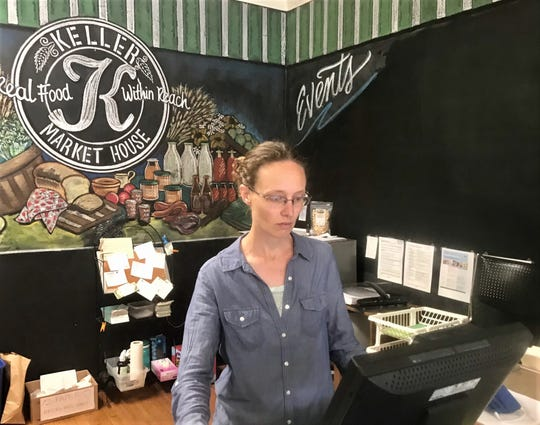 Keller Market House and Lancaster Farmers Market manager Erin Harvey was a market house board member before taking her current position three years ago.