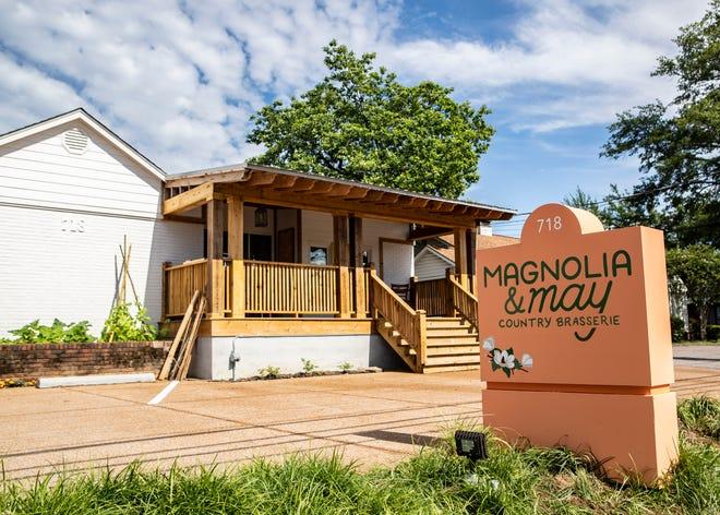 New restaurant Magnolia & May in Memphis, Tenn., on Thursday, May 28, 2020.