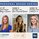 The Pensacola Young Professionals is hosting three webinars on how to personally brand yourself.
