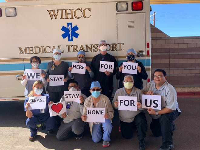 When the Winslow Indian Heath Care Center needed of nurses to help with COVID-19 patients, AB Staffing Solutions heeded its call.