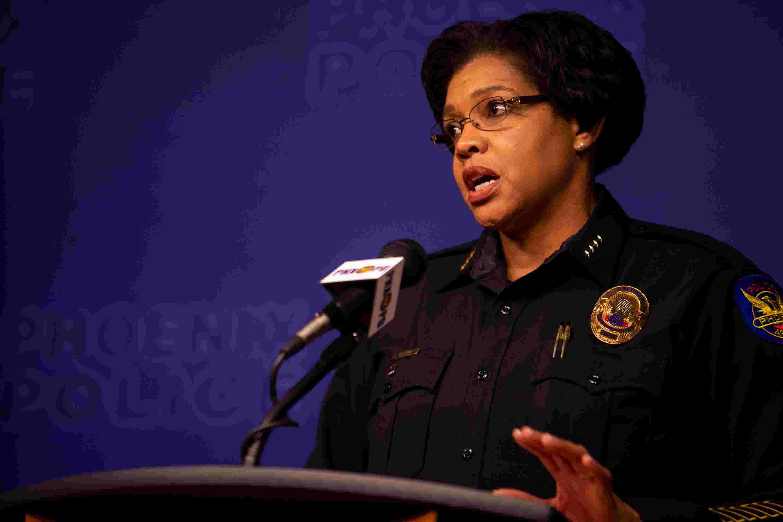 Phoenix police chief addresses protests in Minneapolis, Arizona
