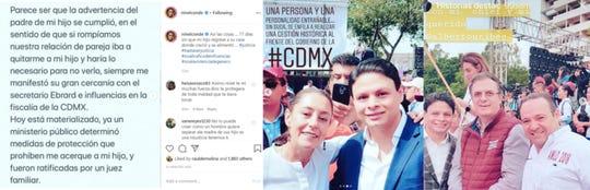 Ninel Conde acusa a su ex pareja y padre de su hijo, Giovanni Medina, de tener influencias en el gobierno de México, para impedirle ver a su pequeño.