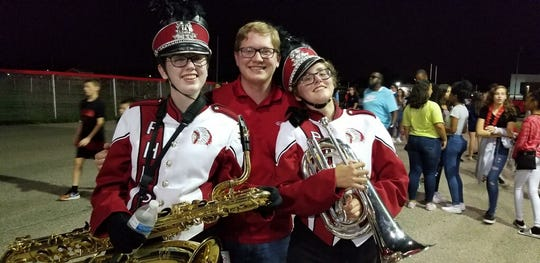 Port Huron band members Marisa Jones and Addie Hughes used to get ice cream after marching during football games.