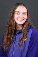 West York grad Meghan French competed for East Carolina swimming as a freshman this season.