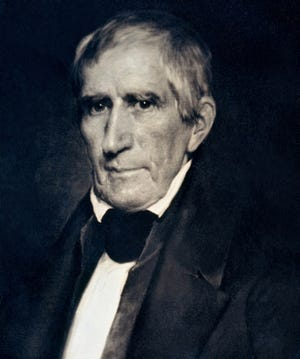 William Henry Harrison is the president who spent the shortest time in office. After delivering a record-length inaugural address in frigid rainy weather, he contracted a cold that later developed into pneumonia.