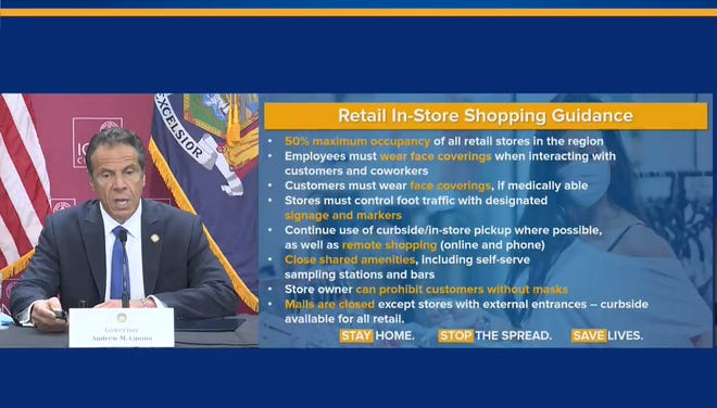 Gov. Andrew Cuomo said five regions of upstate can reopen to phase two on Friday, including retail. Here's what will be allowed.