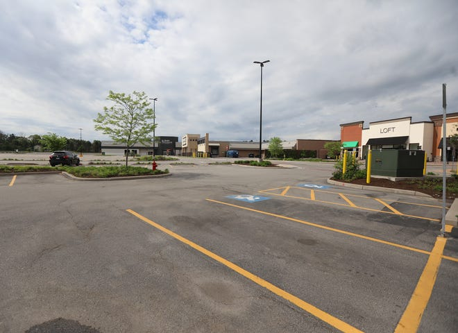 The Mall at Greece Ridge Friday, May 29, 2020.  Retail shopping is open in Phase II except malls and restaurants.