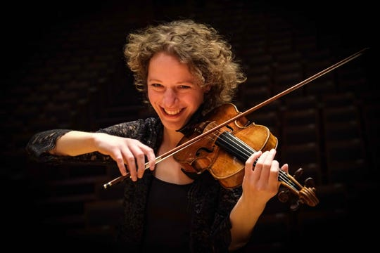 Royal Concertgebouw Orchestra violinist Leonie Bott of Amsterdam performed in May at the Trinity Alps Chamber Music Festival on Zoom.