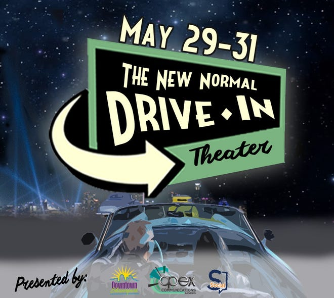 The New Normal Drive-In Theater continues through Sunday.