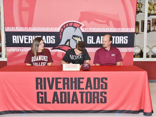 Riverheads' Tyler Wilmer will be running cross country and track at Roanoke College next year.