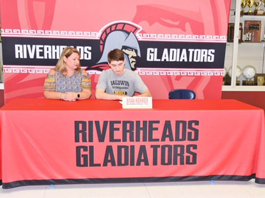 Riverheads' Ryan Kehrer is attending Mary Baldwin to run cross country and track next year.