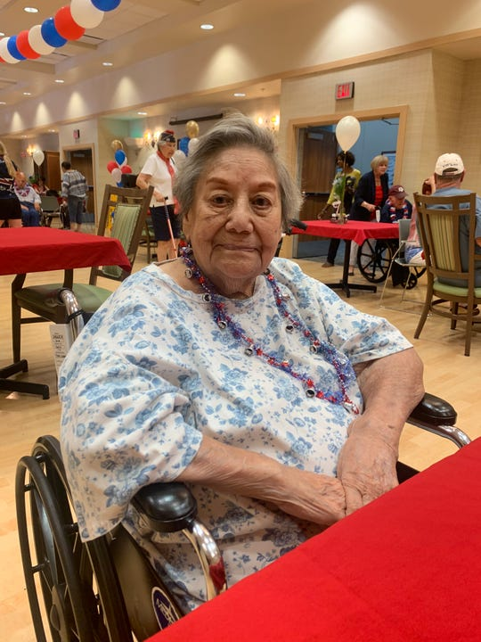 Maria Sargent died May 22, 2020, after testing positive for COVID-19. She had been a resident of the Ambrosio Guillen Texas State Veterans Home in El Paso.