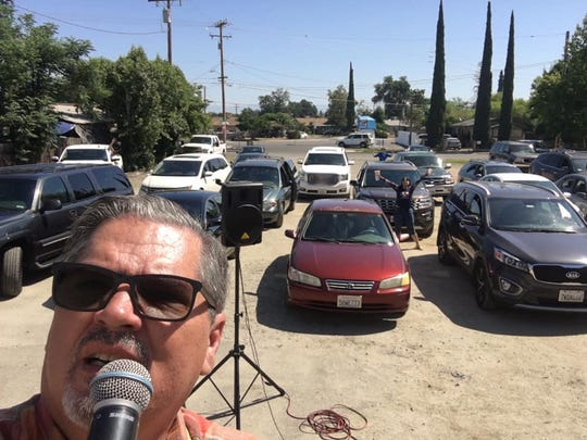 For the past several weeks, The Journey church in Visalia has held drive-in services. The church plans to move indoors this Sunday, May 31, 2020.