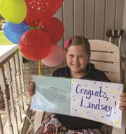 Lindsay Geiger, a fourth-grade student from Chilton, is the state winner of the Wisconsin Ag in the Classroom Essay Contest.