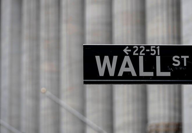 Wall Street in New York City,