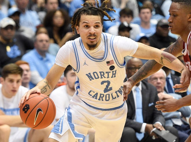 UNC's Cole Anthony was the first player from the in-state ACC schools to be selected in Wednesday's NBA Draft.