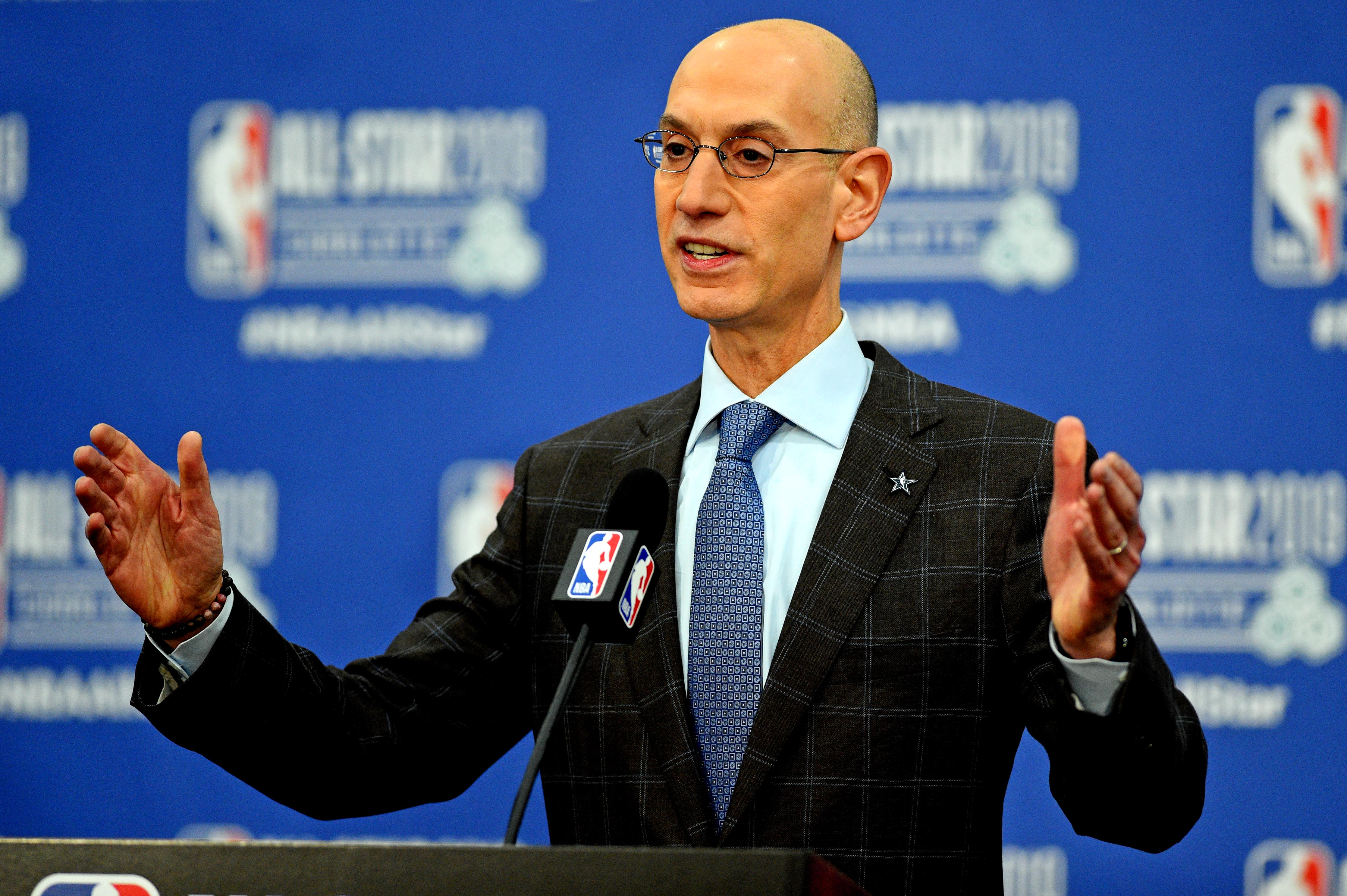 NBA Commissioner Adam Silver addresses racial inequality, police brutality protests in league memo