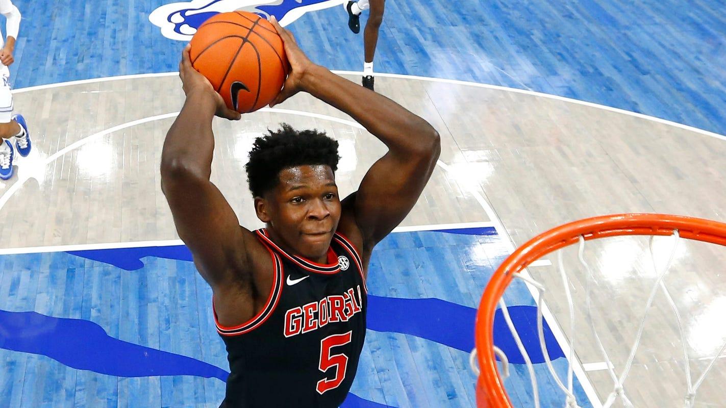 Final NBA mock draft: Anthony Edwards locks in at No. 1, newcomers crash top 10