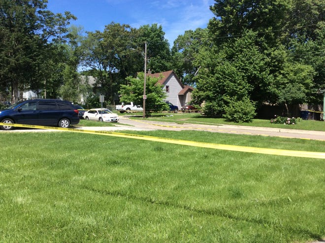 One person is died after being shot near a home near East 15th Street and Dean Avenue Saturday morning.