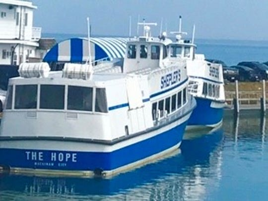 The Hope finally set sail Friday as Shepler's Mackinac Island Ferry began service for the year. Many attendees of Detroit Regional Chamber's Policy Conference would have traveled on it —but it was postponed. Chamber officials are deciding whether the August event will be held due to pandemic.