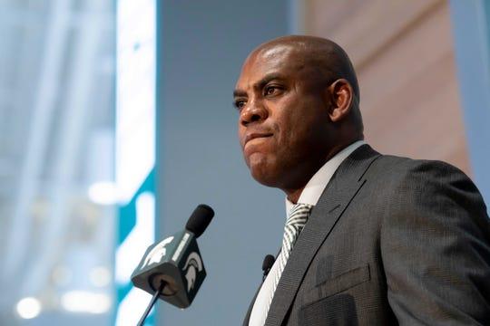 Michigan State football coach Mel Tucker