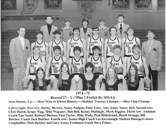 Tiny Loogootee advanced to single-class 1975 boys' basketball state championship game